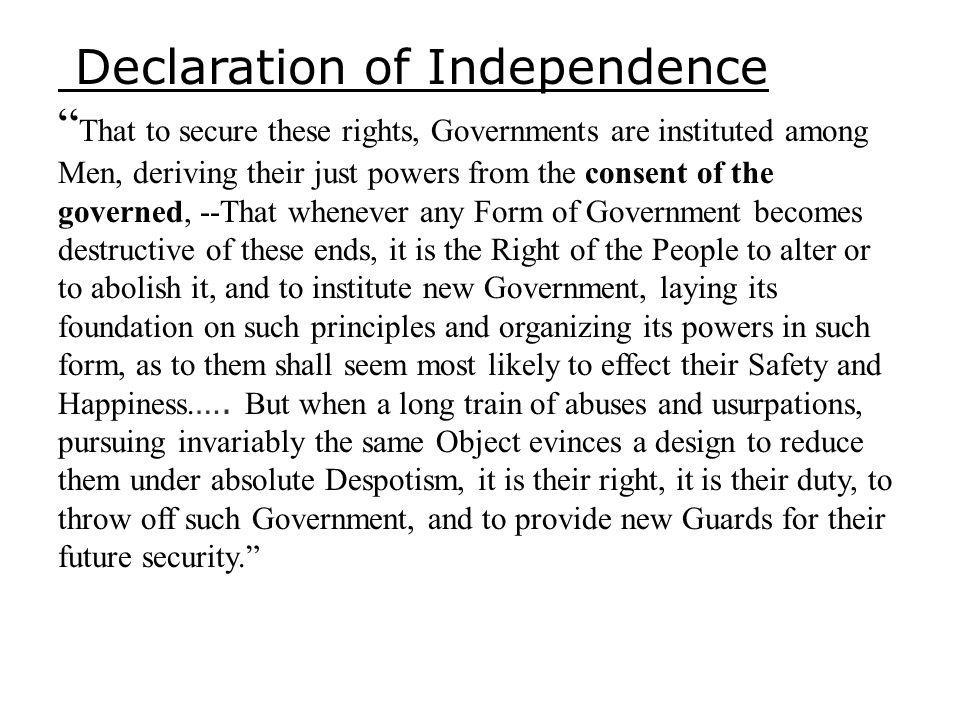 ARTICLE II BILL OF RIGHTS Colo.Const. Art. II, Section 1 (2013) Section 1.