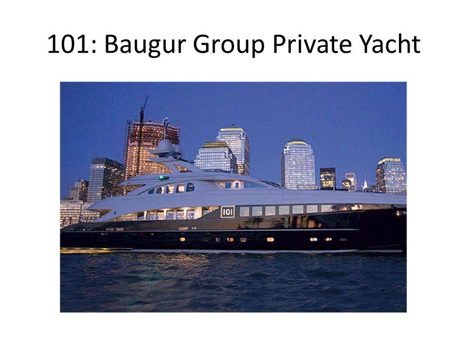 101: Baugur Group Private Jet
