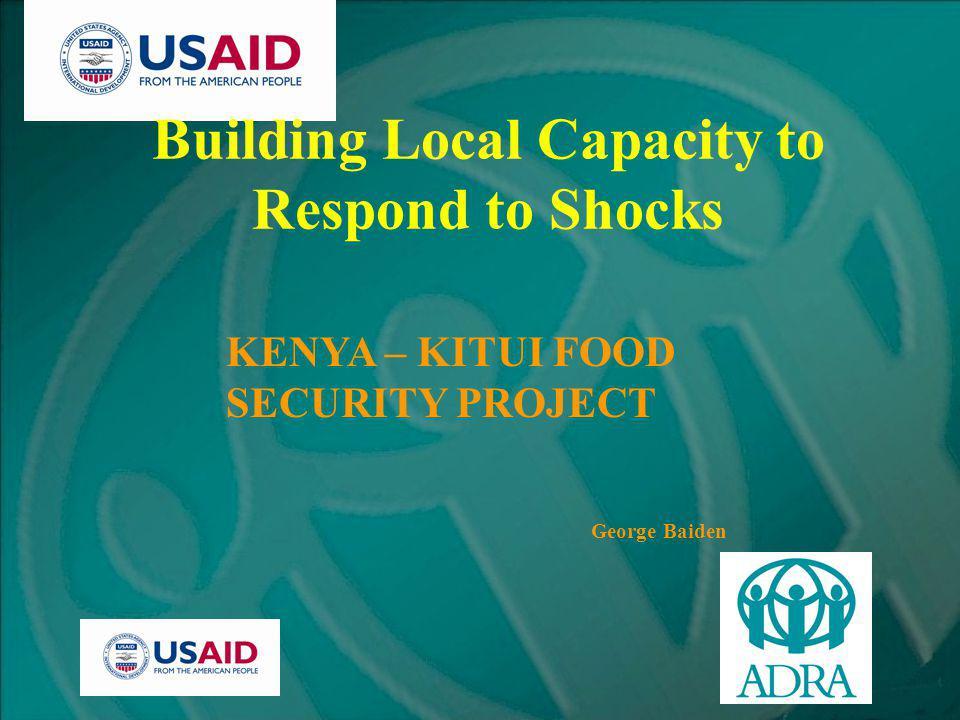 Kenya – Food Security Conditions