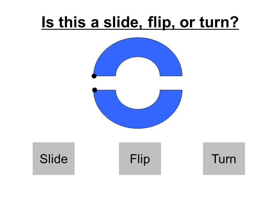 Is this a slide, flip, or turn SlideFlipTurn