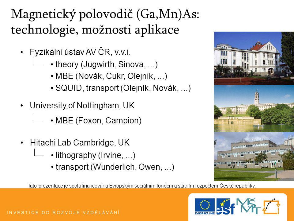 Plzeň, 5.1.101 Tato prezentace je spolufinancována Evropským sociálním fondem a státním rozpočtem České republiky.