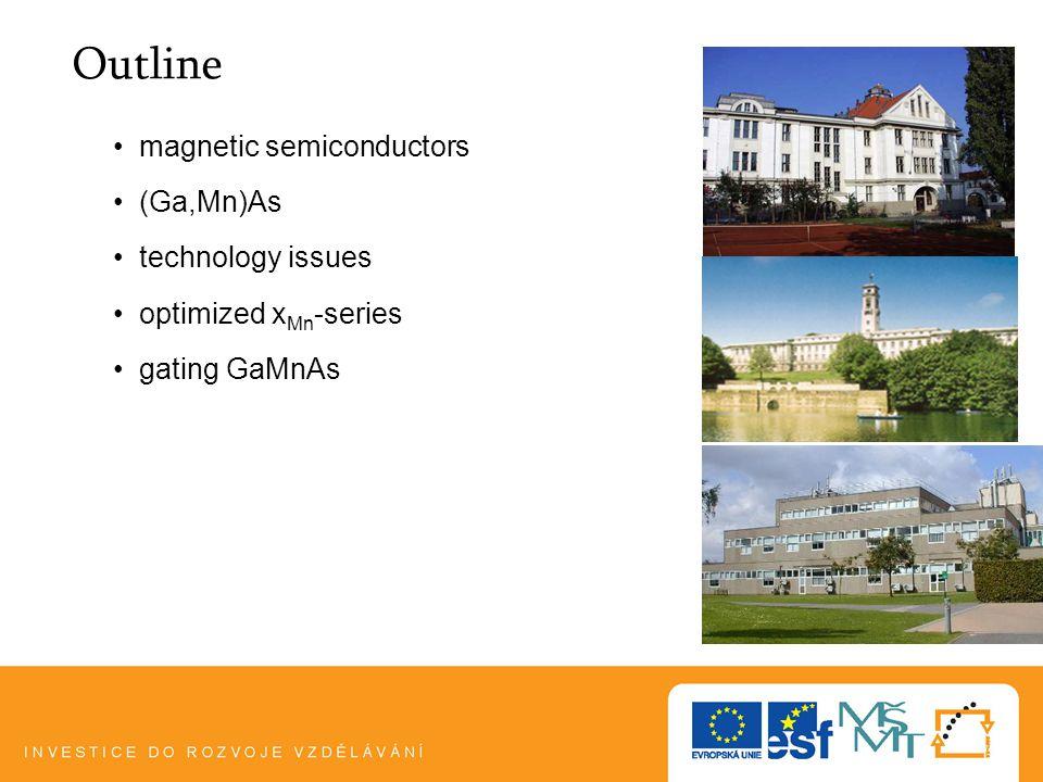 Plzeň, 5.1.103 semiconductors magnetism (ferro)magnetic semiconductors Eu-chalcogenides (EuO, EuGdS,...) problems: technology, T C,...