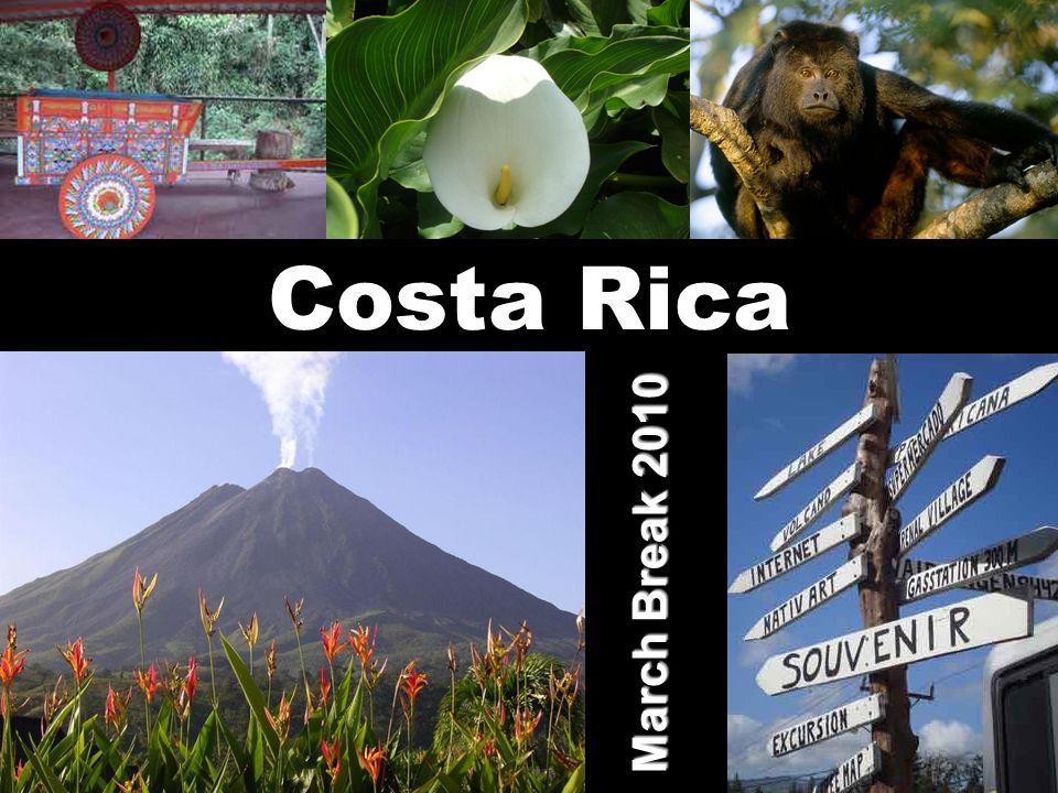 Costa Rica March Break 2010