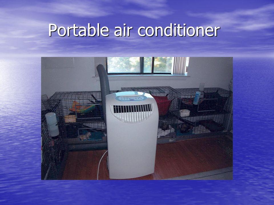 Portable air conditioner Portable air conditioner
