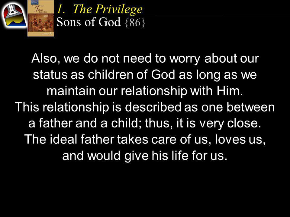 Living as Children of God 2.