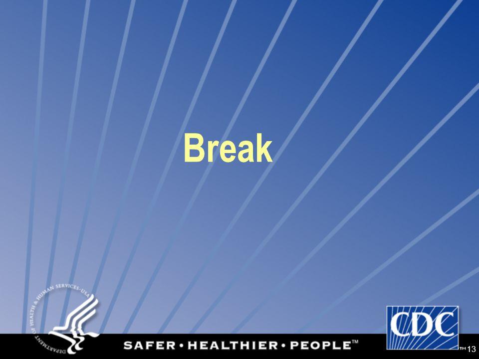 13 Break