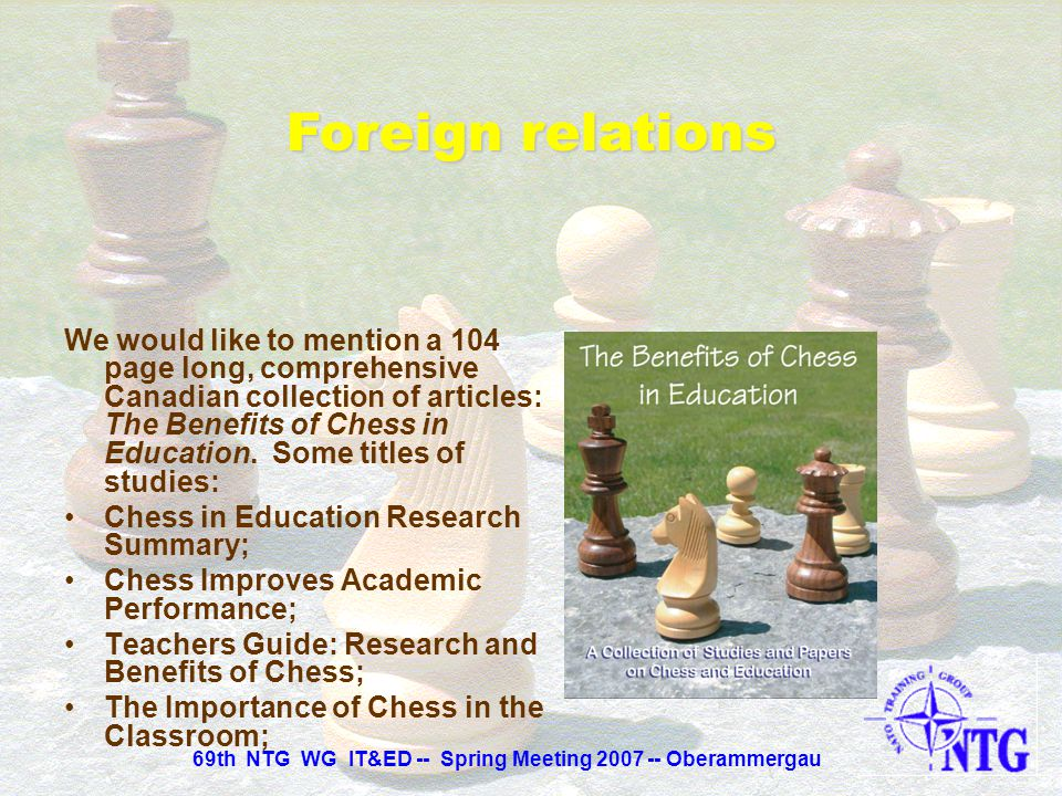 And a very interesting citation from the former world chess champion Emmanuel Lasker: