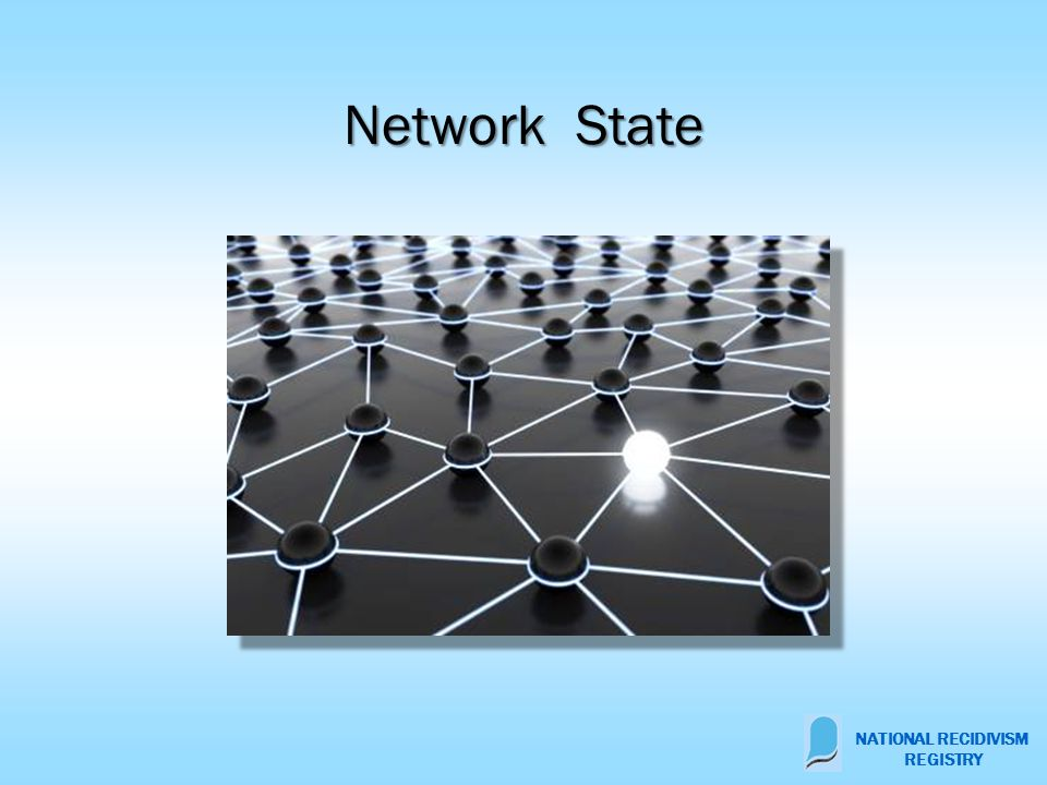 Network State NATIONAL RECIDIVISM REGISTRY