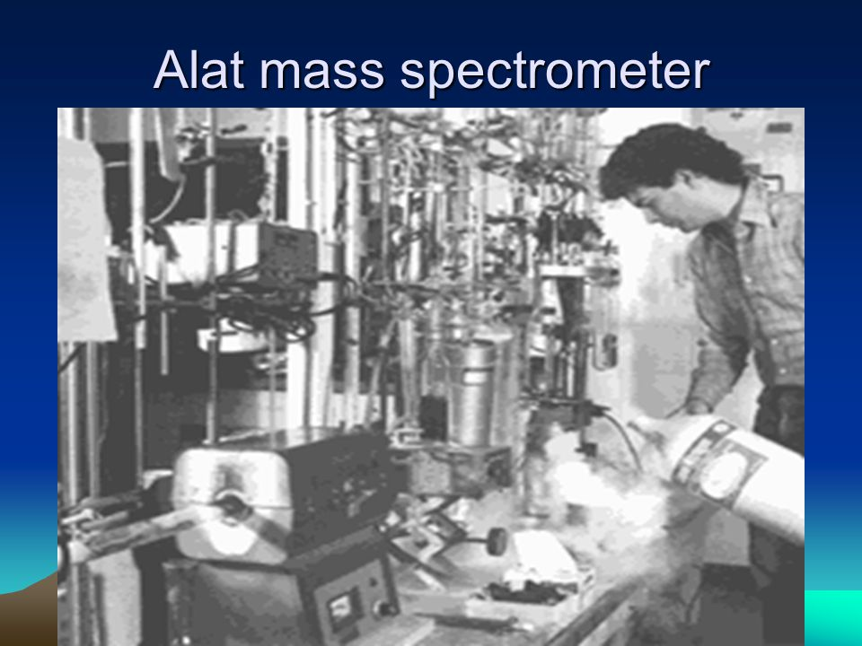 Alat mass spectrometer