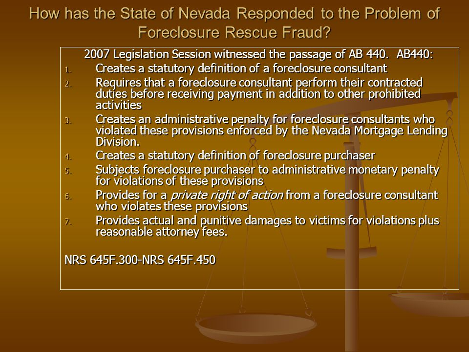 Mortgage Fraud Resources Southern Nevada Mortgage Task Force (702) 584-5555 (Federal, State, Metro task force) Southern Nevada Mortgage Task Force (702) 584-5555 (Federal, State, Metro task force) http://fightfraud.nv.gov http://fightfraud.nv.gov http://fightfraud.nv.gov http://www.ftc.gov http://www.ftc.gov http://www.ftc.gov