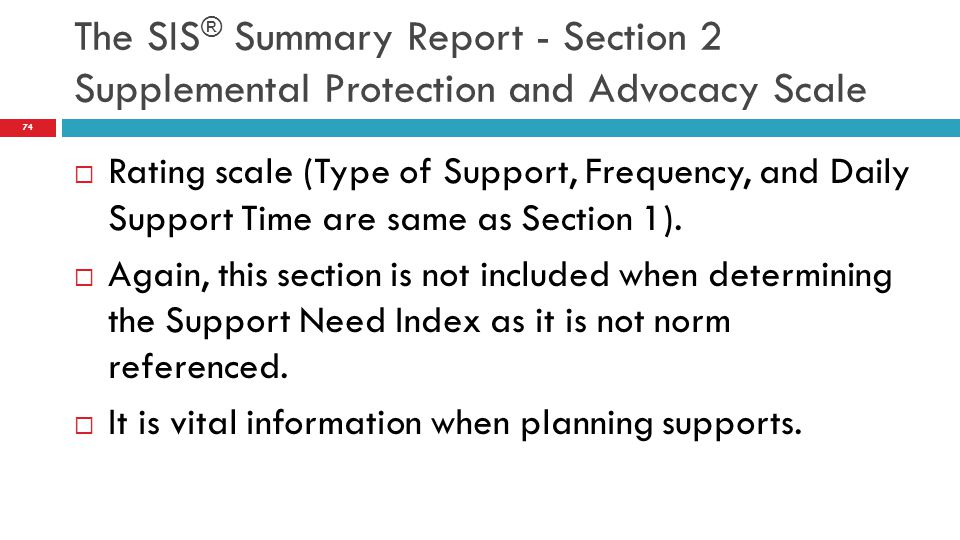  Rating scale (Type of Support, Frequency, and Daily Support Time are same as Section 1).