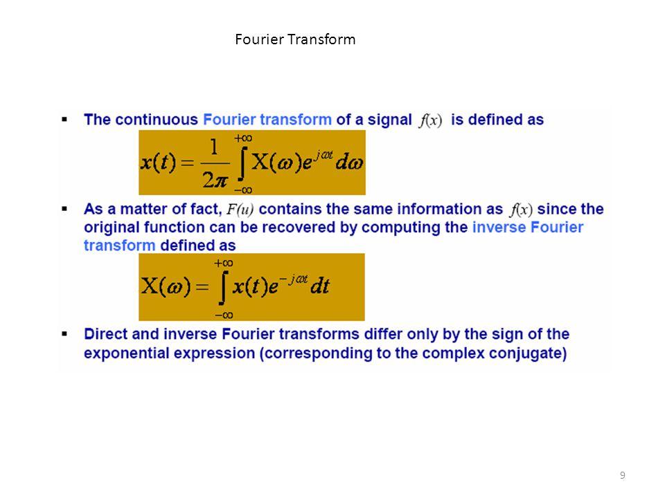 9 Fourier Transform