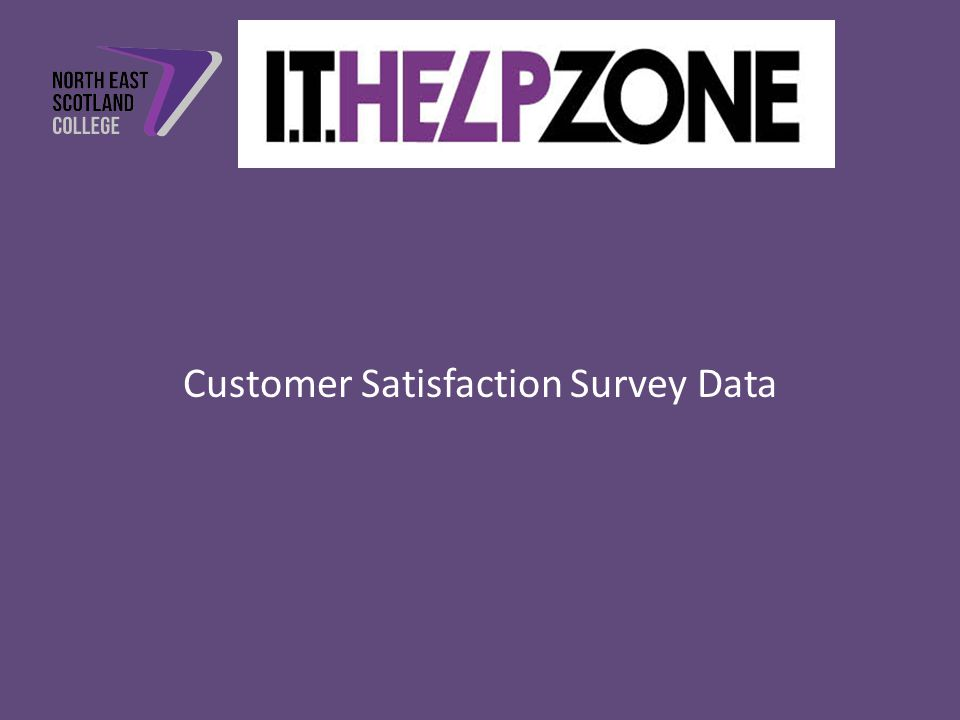 Customer Satisfaction Survey Data