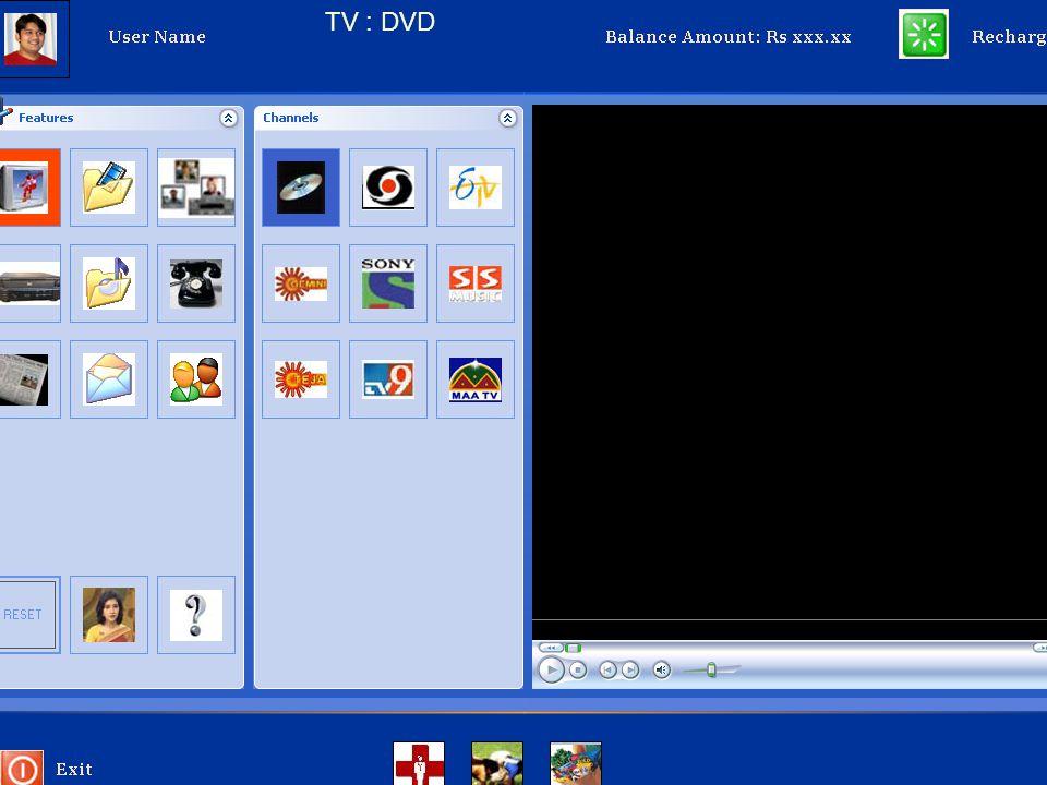 TV : DVD