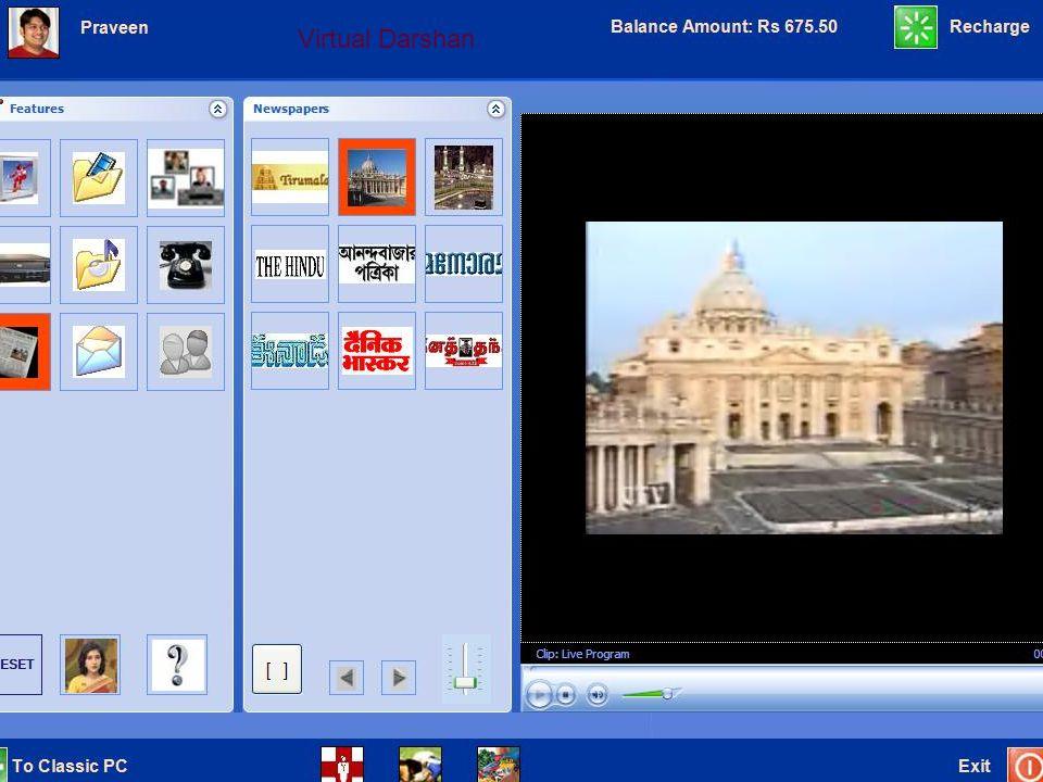 Virtual Darshan