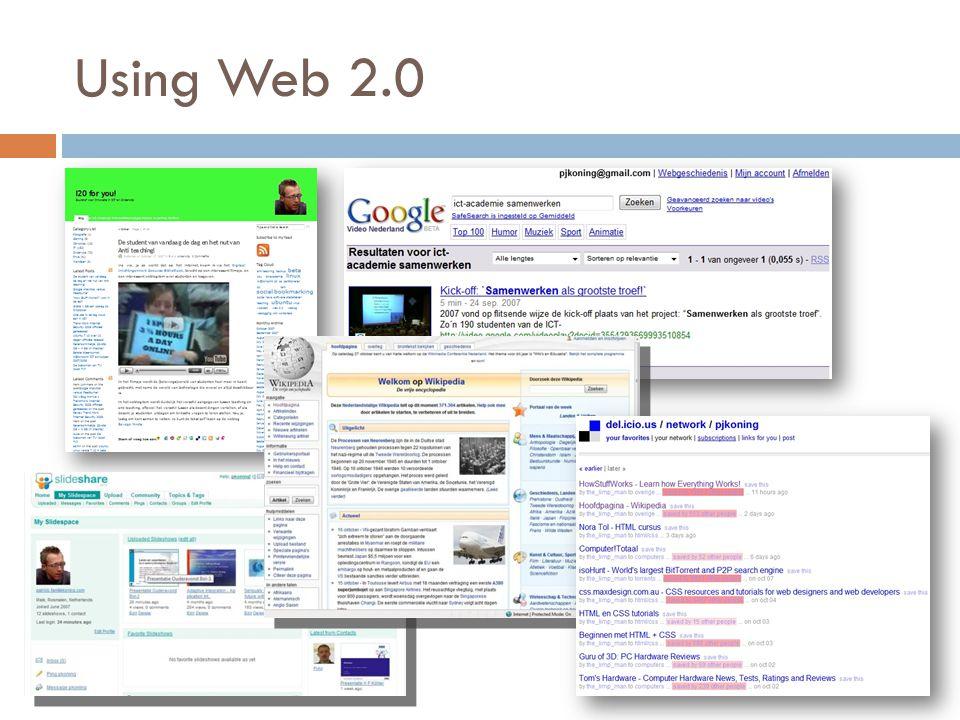 Using Web 2.0