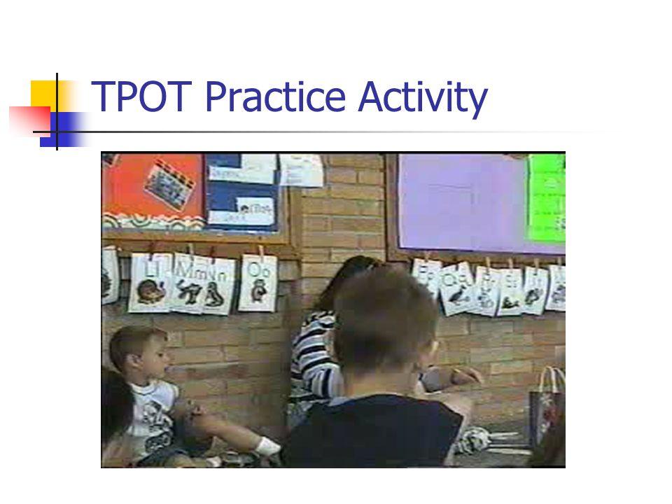 TPOT Practice Activity