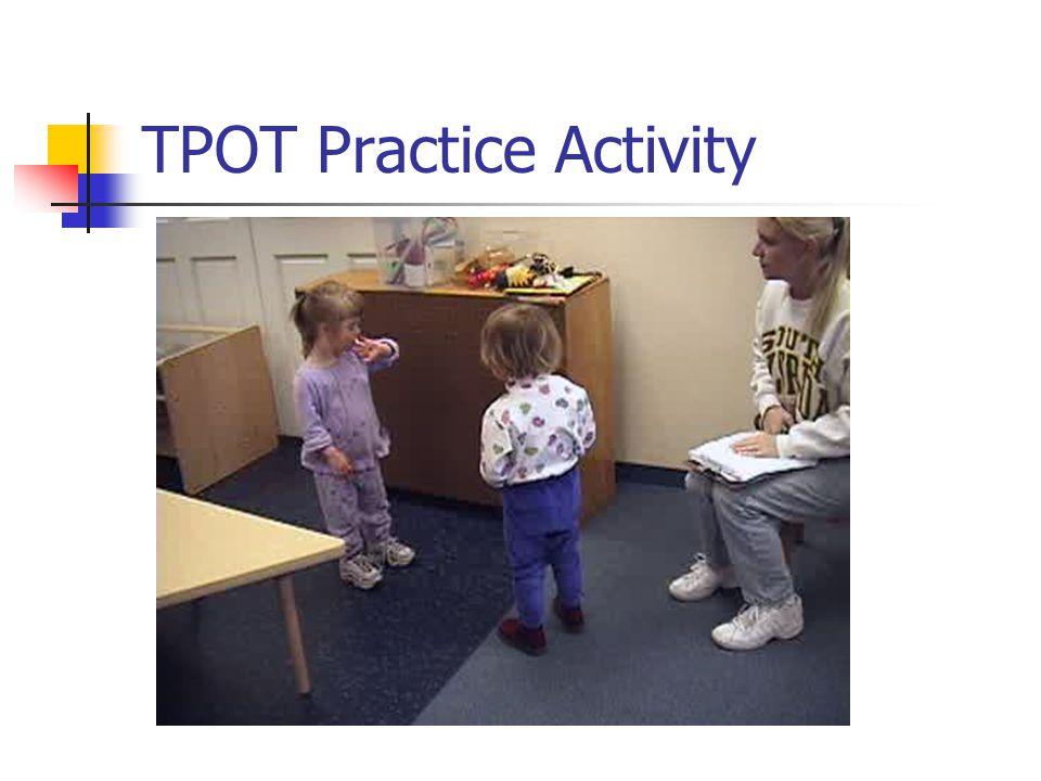 TPOT Table Activity