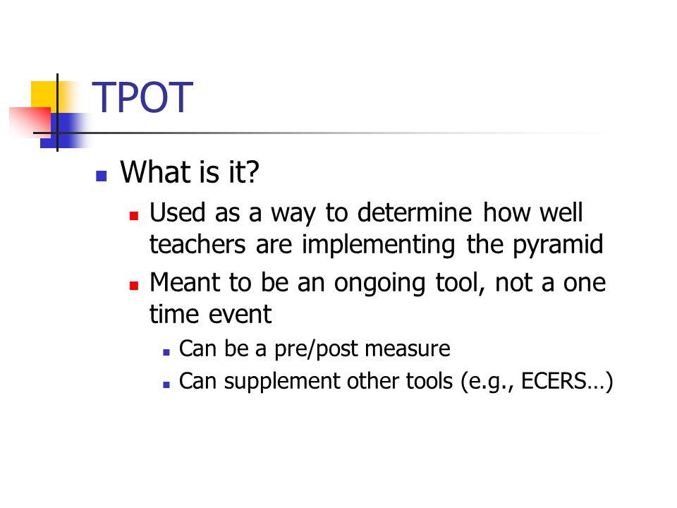 TPOT What is it.