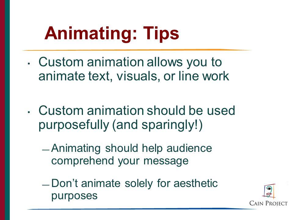 35 Animating