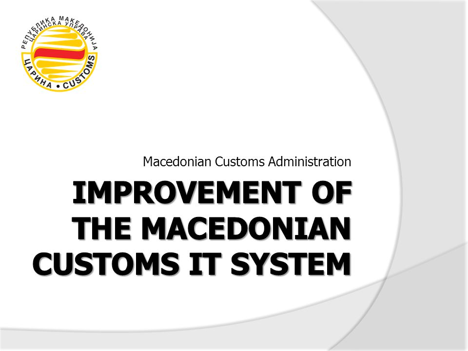 12 EC 2008 Progress Report, Chapter 29: … In preparation for setting up a single-window system at border crossings, an IT system for issuing authorisations and transit records has been developed.