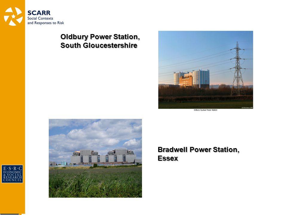 Oldbury Power Station, South Gloucestershire Bradwell Power Station, Essex