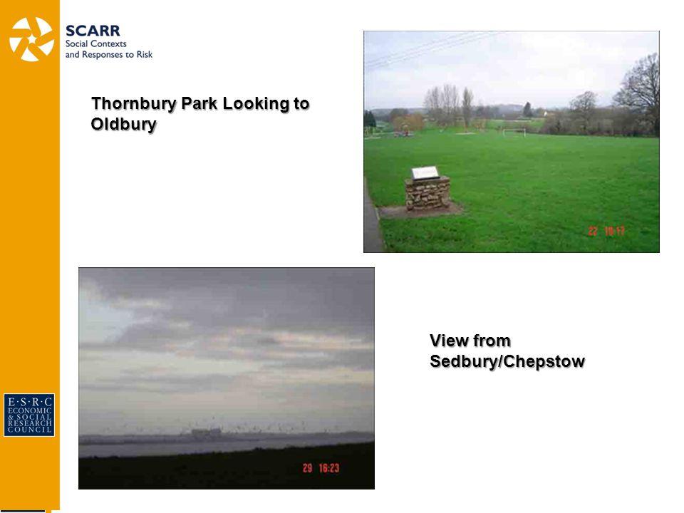 View from Sedbury/Chepstow Thornbury Park Looking to Oldbury