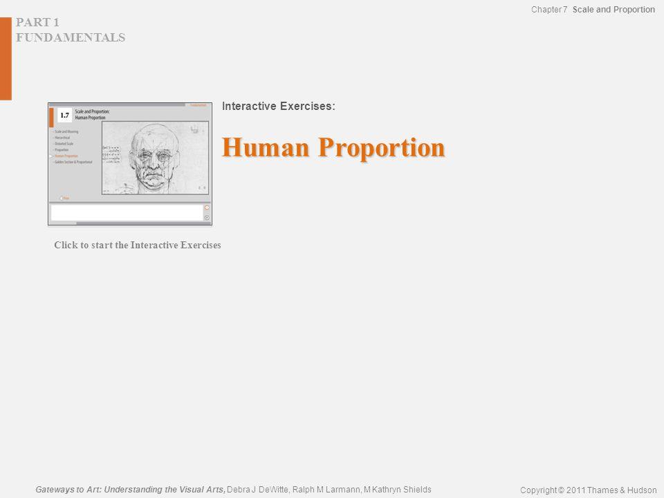 PART 1 FUNDAMENTALS Interactive Exercises: Gateways to Art: Understanding the Visual Arts, Debra J DeWitte, Ralph M Larmann, M Kathryn Shields Copyrig