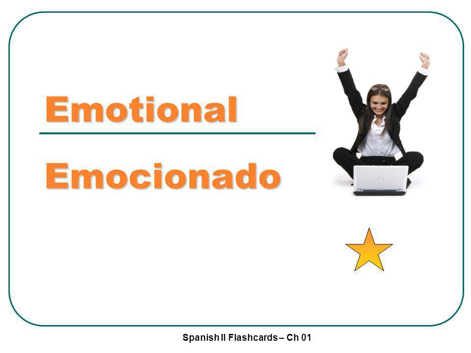 Emotional Emocionado