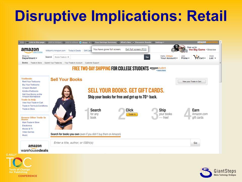 Disruptive Implications: Retail