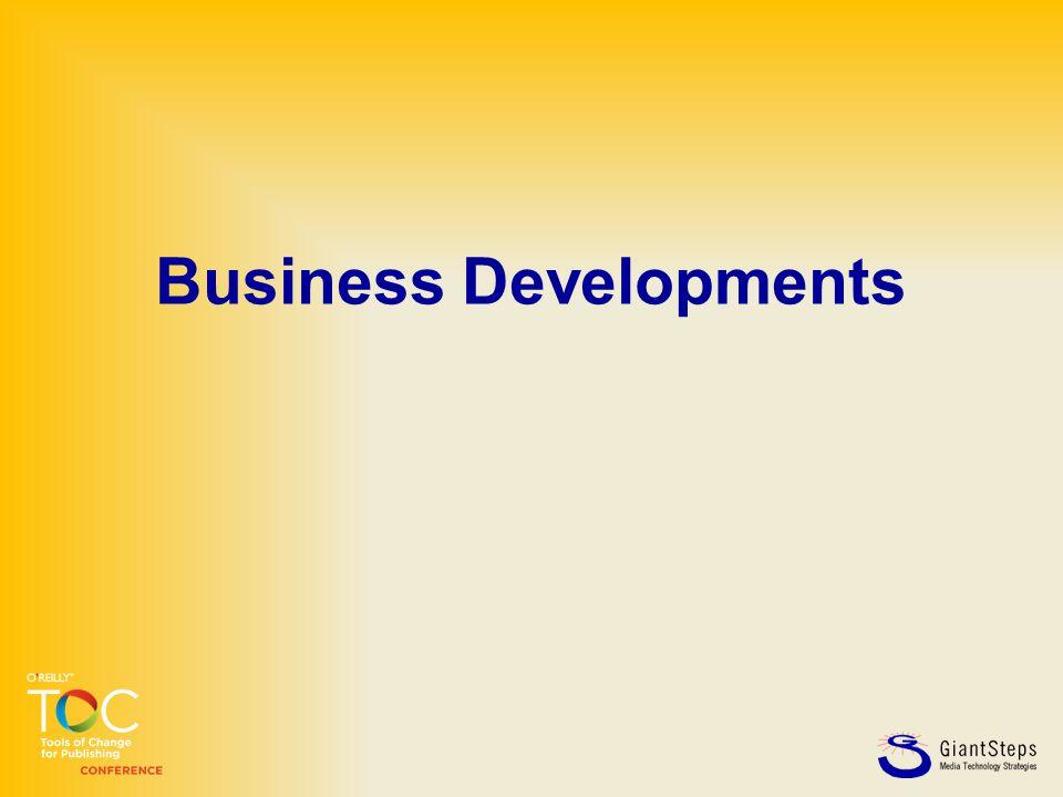 Business Developments