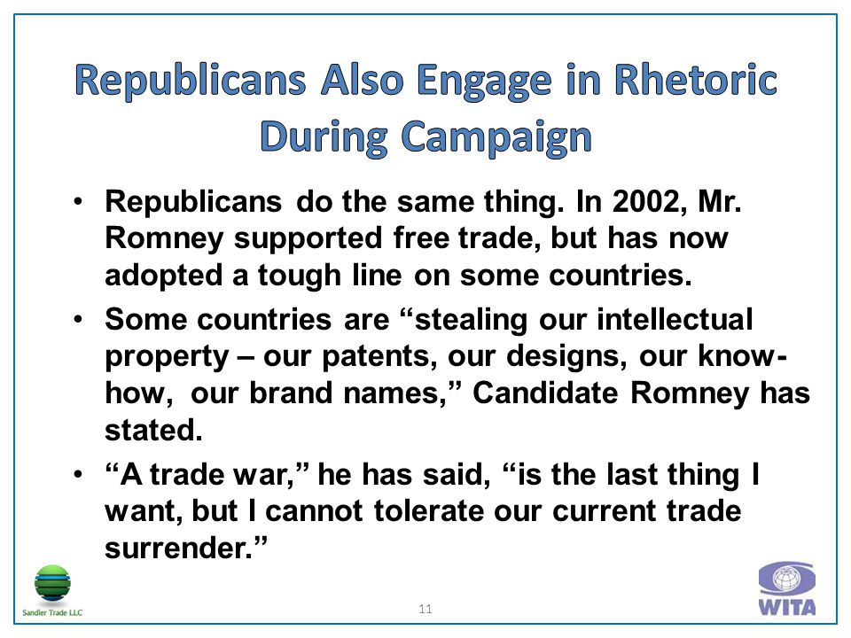 Republicans do the same thing. In 2002, Mr.