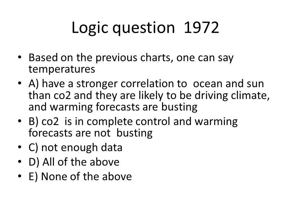 So let me get this straight co2.004 of atmosphere man contribution 3-5%.
