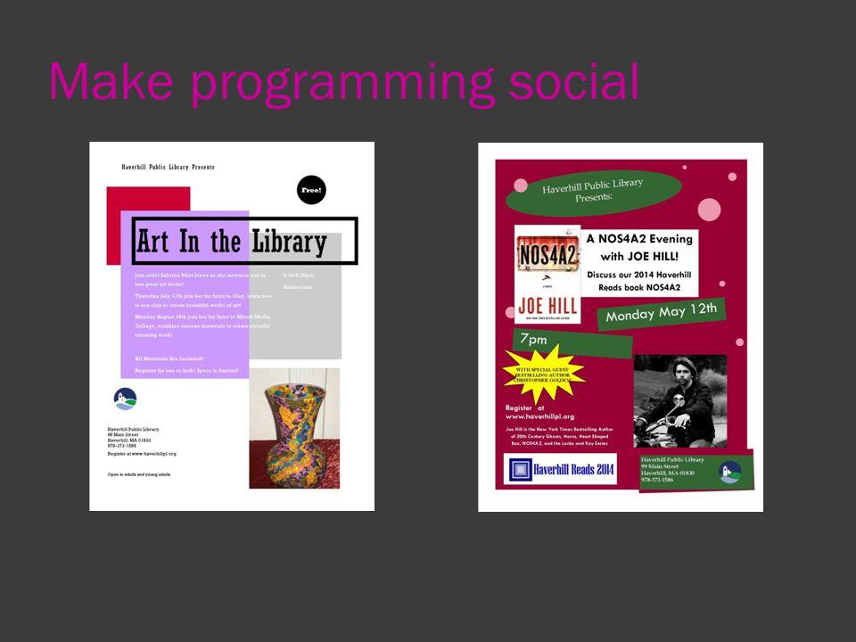 Make programming social