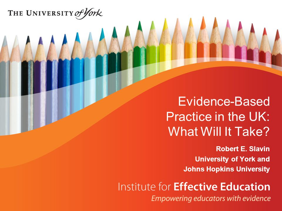 Evidence-Based Practice in the UK: What Will It Take.
