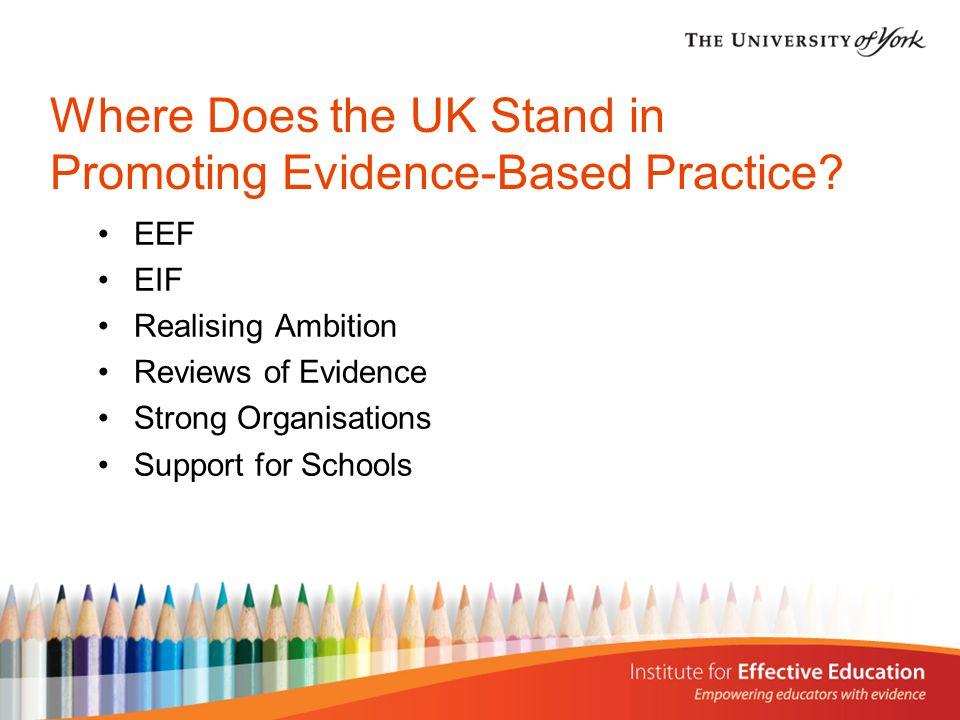 Next Steps Development Organisation building Evaluation Knowledge brokering Incentives to schools