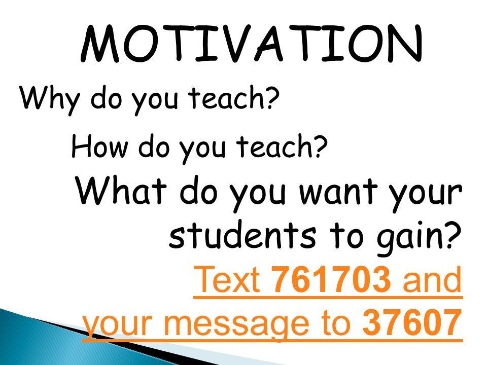 Create atmoshpere + more activities Break Develop activities