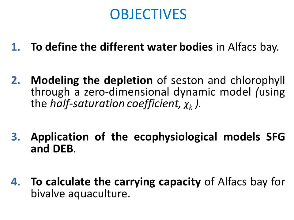ALFACS BAY - Characteristics Positive estuarine circulation pattern of the water inside the bay.