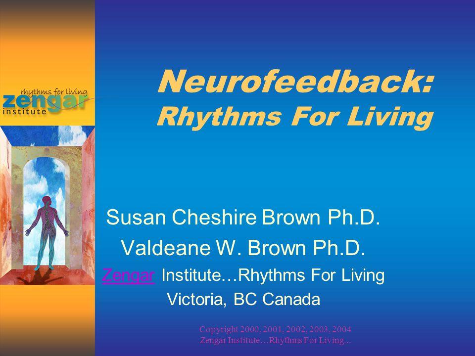 Copyright 2000, 2002, 2003, 2004 Zengar Institute…Rhythms For Living...