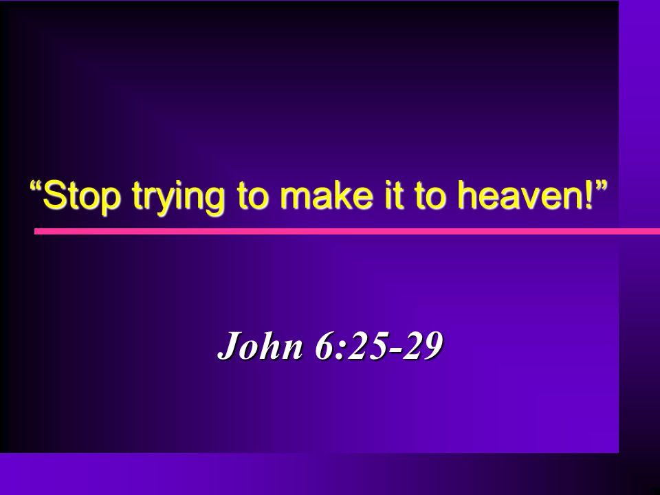 2 Sinners cannot earn salvation 2 Timothy 1:9 False applications: False applications: Nothing you can do affects salvation (Phil.