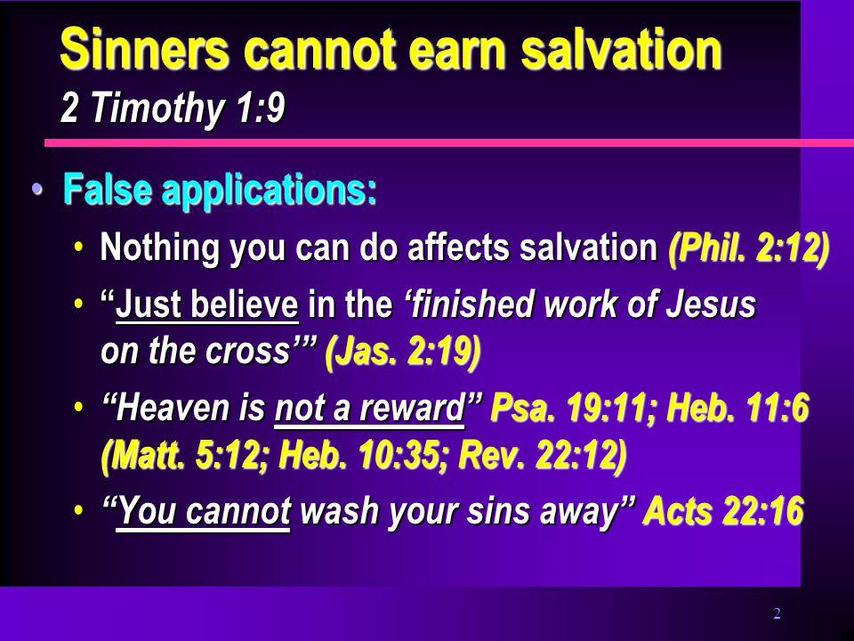 3 Faith Only: A False Doctrine.
