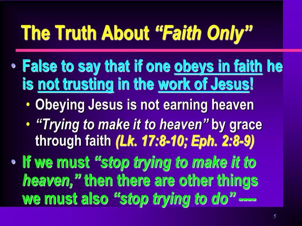 6 Perhaps we should stop… Obeying Jesus, Heb.5:8-9 Obeying Jesus, Heb.