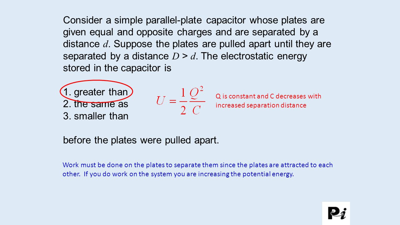 Dielectrics and Dipoles When constructing a capacitor we want to have two plates that are separated by a specific distance.