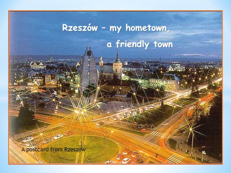 A postcard from Rzeszow
