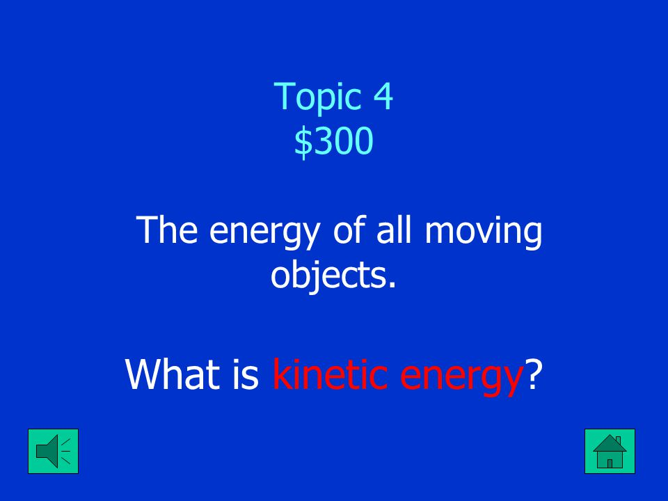 Topic 4 $200 It's the speed gravity accelerates objects on earth.