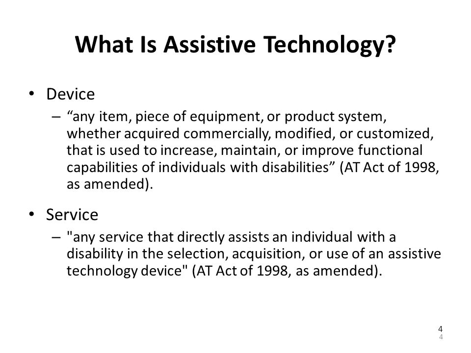 Pennsylvania Assistive Technology and Employment Collaborative A network of Pennsylvania organizations that can provide information on: – Assistive technology and how it can help individuals with disabilities in employment.