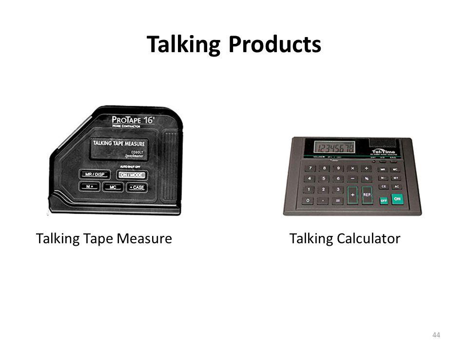 Talking Products Talking Rx Talking Alarm ClockTalking Kitchen Scale 43