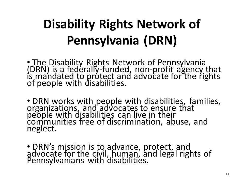 Pennsylvania Assistive Technology and Employment Collaborative A network of Pennsylvania organizations that can provide information on: – Assistive te