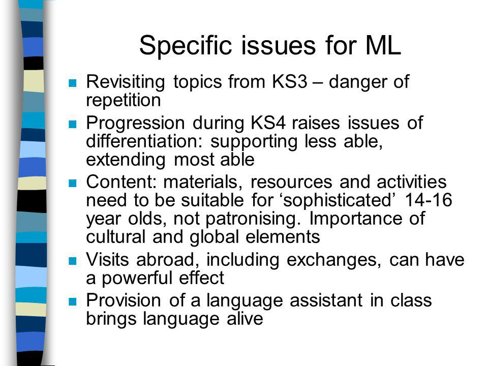 Meeting the language – some issues Repeating vocabulary from flashcards is often not successful Use a multi-skills/sensory approach when presenting or revising vocabulary (examples 1 and 2) Students already have strategies for learning in place Brainstorming/Mindmap - enables students to reactivate language previously encountered and to pool their individual language repertoires