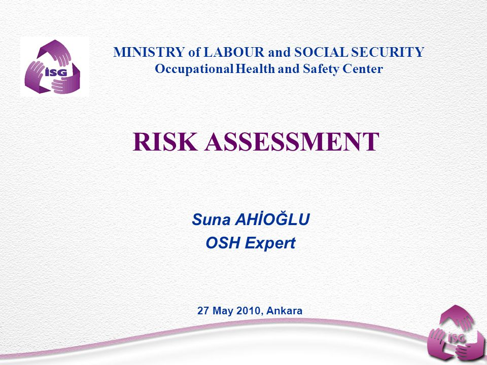 Risk Assessment How do you rank or prioritize the risks.